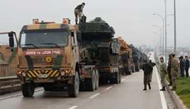 Turkish army along Syria border ordered to prepare for intervention