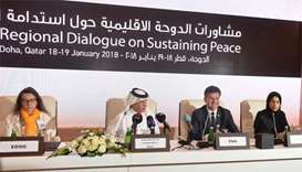 Qatar calls for global meeting on preventive diplomacy