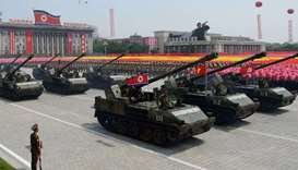 N Korea prepares grand military parade on eve of Olympics: report