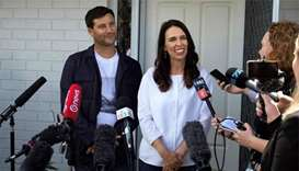 New Zealand PM says she's expecting her first baby