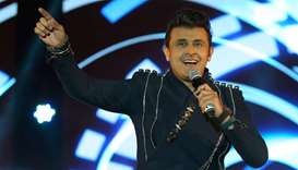 Bollywood Singer Sonu Nigam at DECC