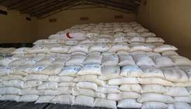 QRCS provides food aid for famine victims in South Sudan