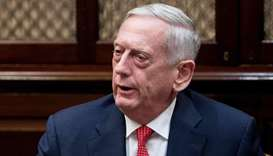 Turkey advised US before Syria strikes; contacts ongoing -Mattis