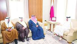 Qatar-Kuwait talks to enhance bilateral ties