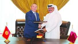 Qatar, Kyrgyzstan sign air services agreement