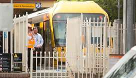 16 injured after Sydney train crashes into barrier