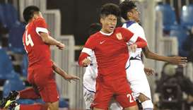 Aspire Academy held by gritty Guangzhou