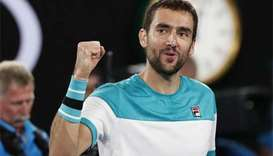Cilic into Australian Open semis as injured Nadal retires