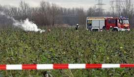 Germany plane crash