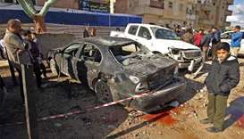 34 dead in twin bombings in Libya's Benghazi