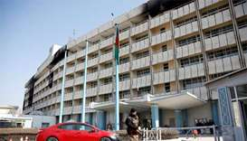 Kabul hotel attack killed 40 people, says official