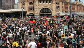 Thousands mark Australia Day with protest against colonisation