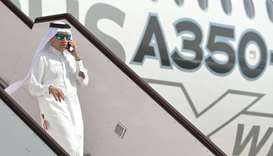 Qatar Airways to take delivery of first Airbus A350-1000 in Feb third week: Al-Baker