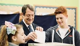 Cyprus votes for president with eyes on new peace push