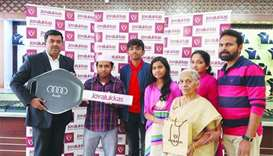 Bangladeshi national wins Audi in Joyalukkas promotion