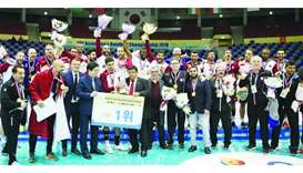 Qatar complete hat-trick of Asian handball titles