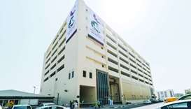 The substation-cum parking facility built by Kahramaa at a cost of QR155mn on Grand Hamad Street can