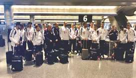 Bayern Munich arrive in Doha for winter training camp