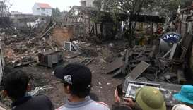 Two children die in Vietnam explosion