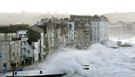 One dead, 15 injured in France as storms batter Western Europe