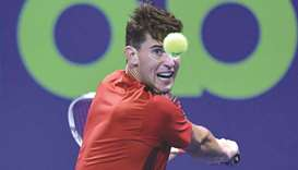 Thiem battles on as seeds fall by the wayside
