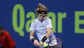 Qatar Open: Russia's Rublev reaches semi-finals