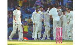 Australia hit back with late wickets in Sydney