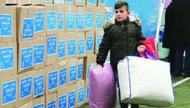 Qatar Charity sends winter relief to orphans in Kosovo, Bosnia