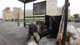 Homeless clampdown sparks UK royal wedding row