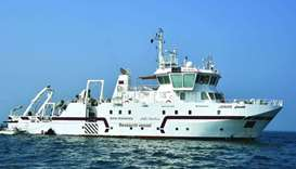 The QU research vessel, Janan.