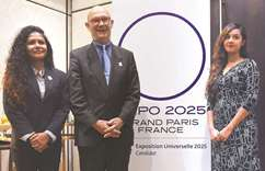 France seeks support of Lanka for Expo 2025 bid