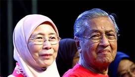Malaysian alliance names Mahathir as PM candidate