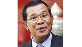 Cambodian PM leads huge rally on anniversary of Khmer Rouge's fall