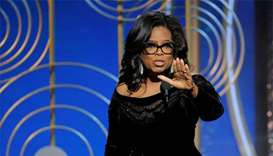 Oprah declares 'new day' for women in Globe speech