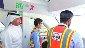 PM inspects Doha Metro project's Economic Zone Station