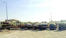 Al Daayen municipality removes abandoned vehicles