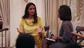 Sheikha Hind participates in 'Off The Record' discussion in New York