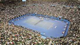 First Grand Slam tennis event of the year