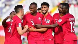 Qatar thrash North Korea to move into Asian Cup knock-outs