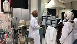 QU students head to Oman internship