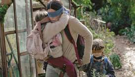 Fans flock to Bird Box house in California
