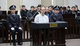 Canadian sentenced to death in China for drugs will appeal