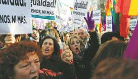 Protest in Andalusia against coalition govt