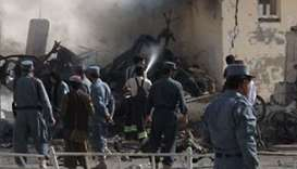 Car bomb attack kills eight security force members in Afghanistan's south