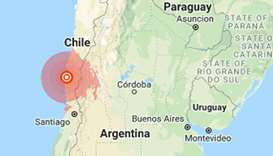 Two dead from heart attacks as strong quake jolts Chile