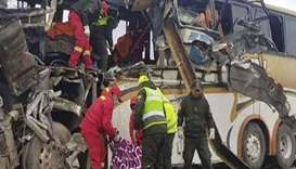 At least 22 dead in Bolivian road accident