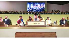 Arab leaders agree 29-item economic agenda