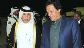 Pakistan Prime Minister Imran Khan arrived in Doha