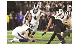 Rams rally past Saints in overtime to reach Super Bowl against Patriots