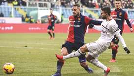AC Milan back fourth with win over Genoa